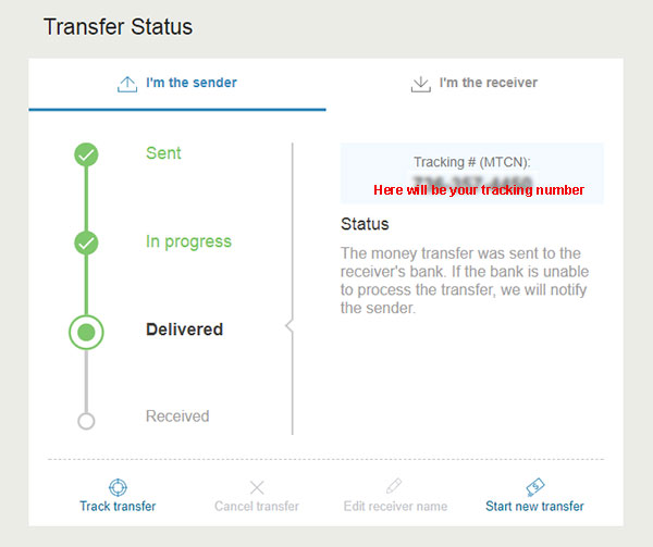sending bank transfer to amsterdamshops with western union confirmation