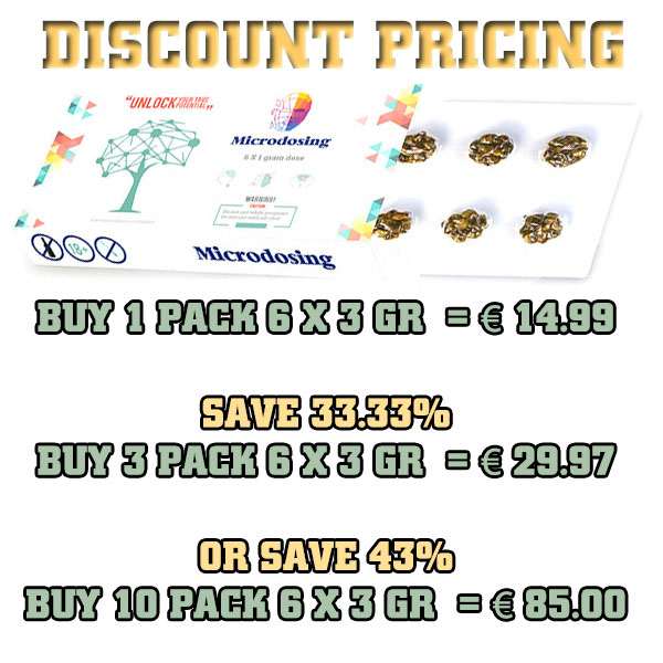 microdosing discount bulk pricing